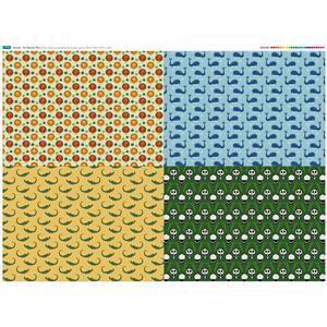 Animal Fat Quarters Fabric Panels (140 x 107cm)