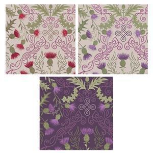 Lewis & Irene Loch Lewis Thistles Fabric Bundle (1.5m)
