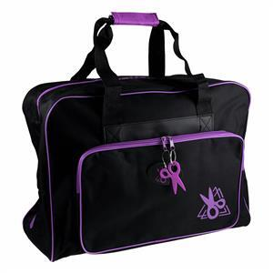 Sewing Machine Bag in Black & Purple