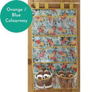 Sew Crazy Girls Snazzy Shoe Store Kit: Orange / Blue