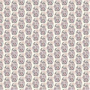 Liberty Emporium Collection Tudor Palmeria Pink Fabric 0.5m