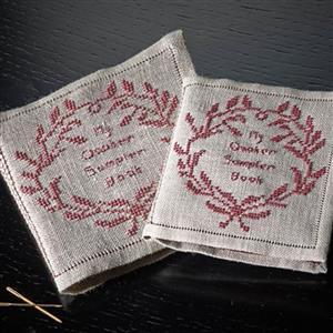 The Cross Stitch Guild Quaker Sampler Book On Dublin Linen
