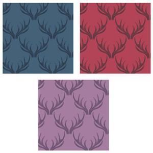 Lewis & Irene Loch Lewis Antlers Fabric Bundle (1.5m)