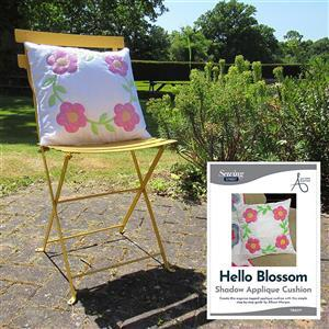 Allison Maryon's Hello Blossom Shadow Appliqué Cushion Kit
