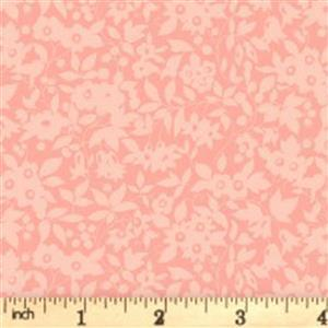 Liberty Cottage Garden Collection Pink Daisy Shadow Fabric 0.5m
