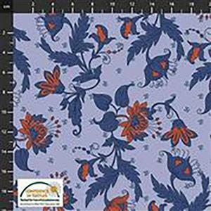 Alavana Jersey in Budding Tuilp Fabric 0.5m