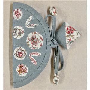 Village Fabrics Duckegg Japanese Needle Case