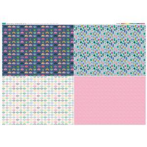 Japanese Spring Fat Quarter 2 Fabric Panel 140x107cm