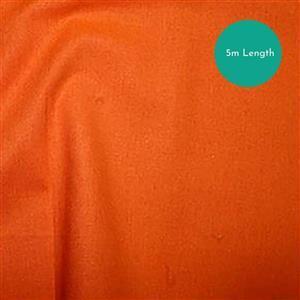 100% Cotton Fabric Orange Backing Bundle (5m). Save £1.50