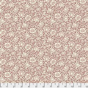 William Morris Orkney Mallow Rose Fabric 0.5m