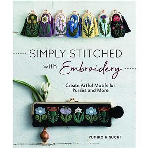 Simply Stitched with Embroidery Book
