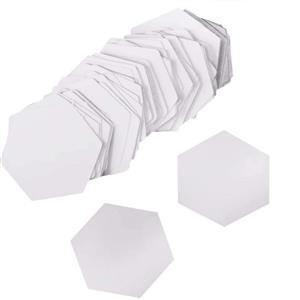"Early Bird Special - EPP Paper Hexagon 2.54cm 1"" Pack of 100. Half Price"