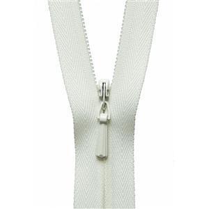 Cream Concealed Zip: 23cm