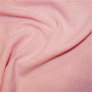 Pink 100% Stone Washed Linen 0.5m