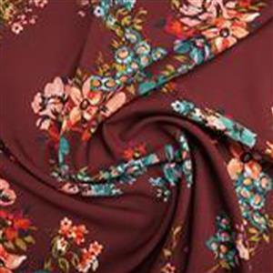 Mulberry Blooms Fabric 0.5m