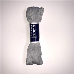 Olympus Sashiko Thread Colour 113 Light Grey 100m