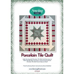 Porcelain Tiles Quilt Instuctions