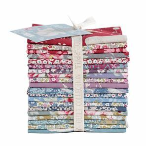 Tilda Woodland Fat Eight Bundle Assorted Pack of 20 Pieces