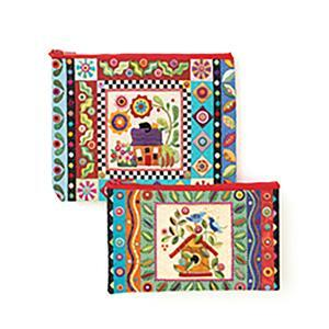Colorful Creatures Eco Pouch Set Book by Erica Kaprow