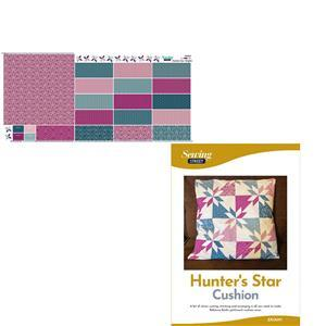 Hunters Star Brights Cushion Kit, Fabric Panel & Instructions