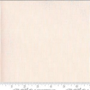 Moda Folktale Skinny Stripes Petal Fabric 0.5m