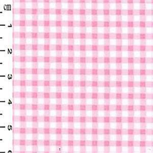 Pink Check Pinafore Dress Fabric Bundle (2m)