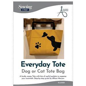 Allison Maryon's Cat or Dog Applique Tote Bag Instructions