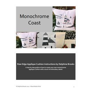 Delphine Brooks Coastal Monochrome Instructions