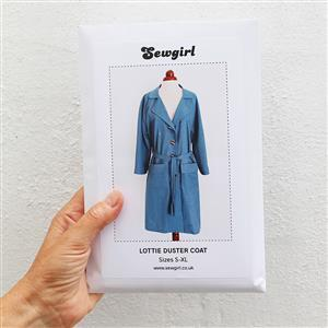 Sewgirl Lottie Coat Sewing Pattern Sizes S-XL