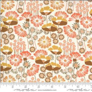 Moda Cider Pink Floral Multi Fabric 0.5m