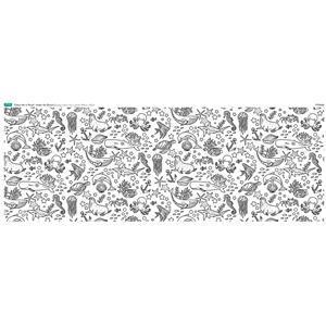 Colour-Me-In Under the Ocean Fabric Panel 140cm x 56cm