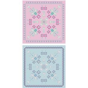 Liberty Deco Dance Collection Deco Dance Tile Fabric Panel 60cm