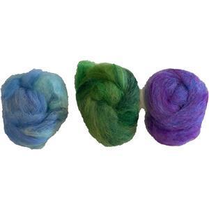 Purple Felting Wool