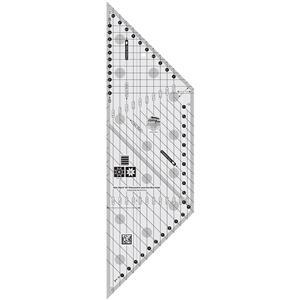 "Creative Grids® Non-Slip 45° Diamond and Lone Star Bias Ruler - 15.2cm (6"") by Rachel Cross"
