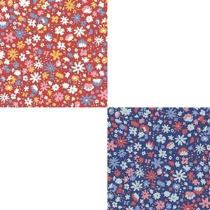 UNDER £15 Liberty Carnaby Collection Bloomsbury Blossom Fabric Bundle (1m)