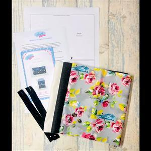 Living in Loveliness - Wool Craft Clutch Kit