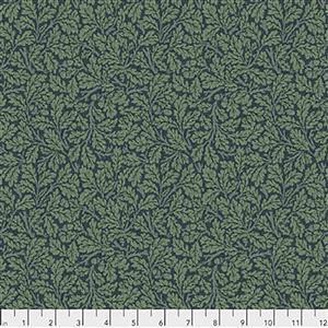 William Morris Orkney Oak Indigo Fabric 0.5m