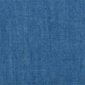 4oz Washed Denim Cotton - Medium Blue 0.5m