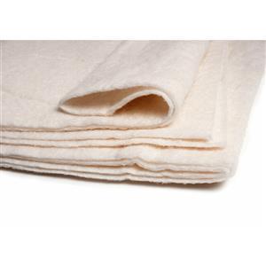 "Heirloom Premium Cotton Crib Size Wadding 114cm x 152cm (45in x 60"")"