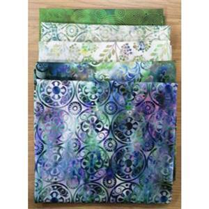 Jason Yenter Floragraphix Green Fabric Bundle (2.5m)