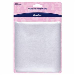 Iron-On Interfacing Medium 1m x 1m