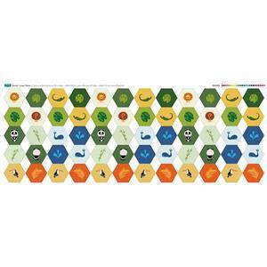 Animal Hexie Fabric Panel (140 x 109cm)