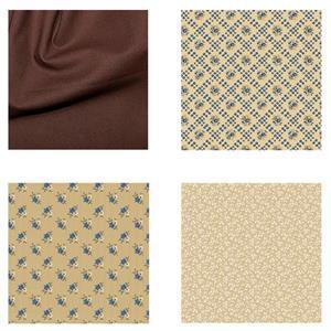 Riley Blake Brunette Bed Runner Fabric Bundle (4m)
