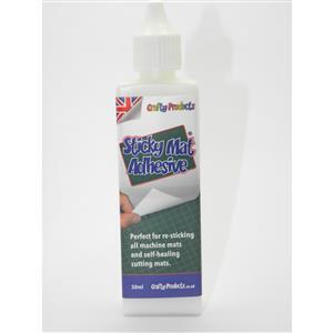 Crafty Products Sticky Mat Adhesive (50ml Bottle)