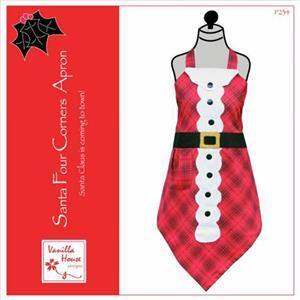 Santa Four Corners Apron