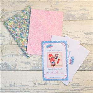Living in Loveliness Sewn with Scraps Issue 3 – Liberty