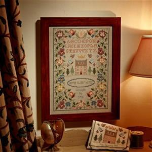 The Cross Stitch Guild Home Sweet Home on Linen