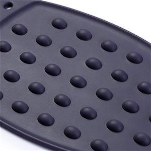 Silicone Mini Iron Rest Navy Blue