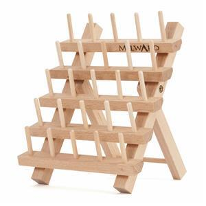 Beech Wood 25 Spool Rack