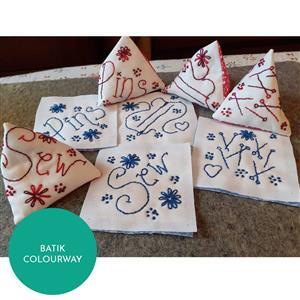 Sew with Beth Pattern Weights (makes 8) Batik